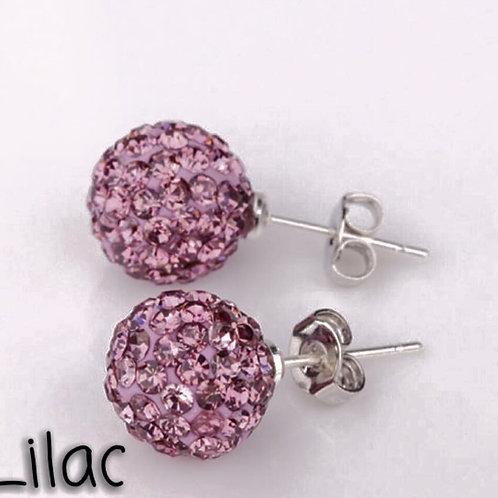 Lilac earrings!