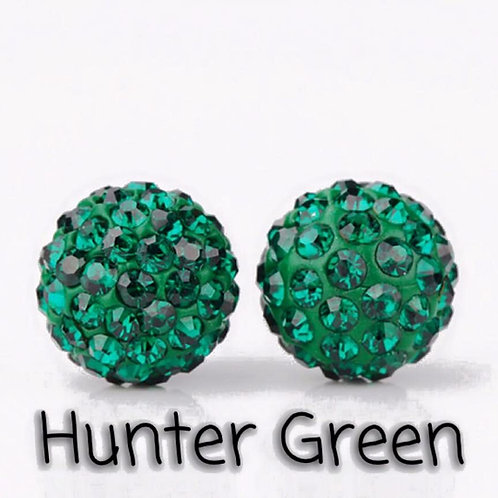 Hunter green earrings!