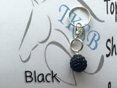 Black bridle charm!
