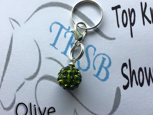Olive bridle charm!