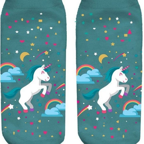 Stars & Rainbows Unicorn socks!