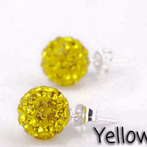 Yellow earrings!