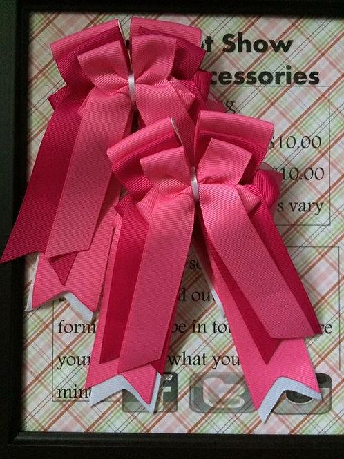 Pink & fuchsia bows!
