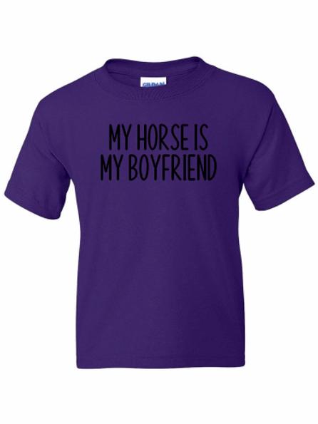 My horse is my boyfriend tee!