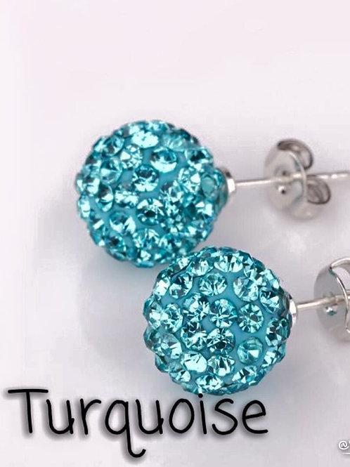 Turquoise earrings!