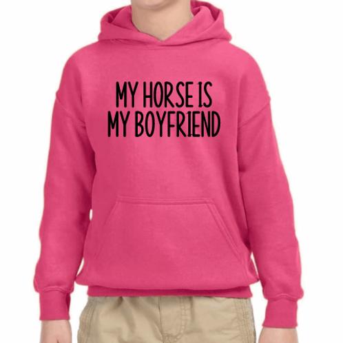 My horse is my boyfriend