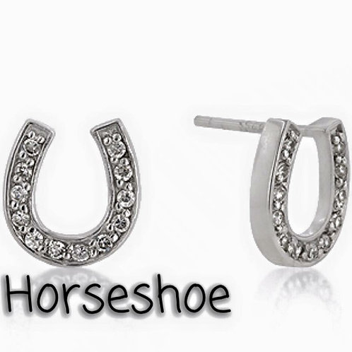 Horseshoe earrings!