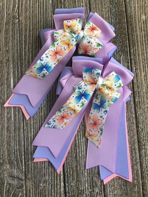 Purple & pink butterflies!