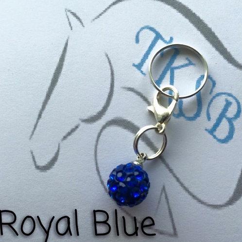 Royal blue charm!