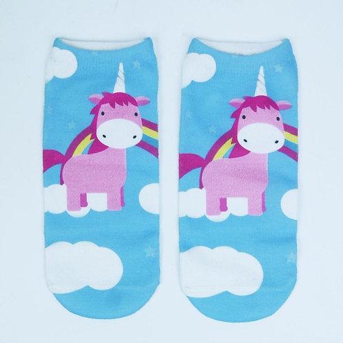 Unicorns in the sky Socks!