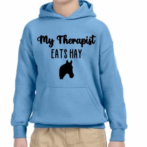 My therapist eats hay