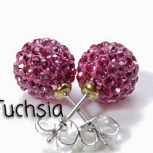 Fuchsia earrings!