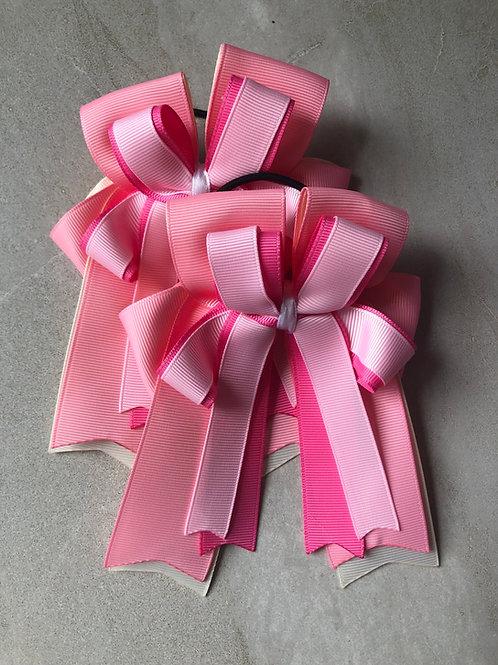 Pink & cream bows!