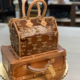 Purse and Shoe Cakes