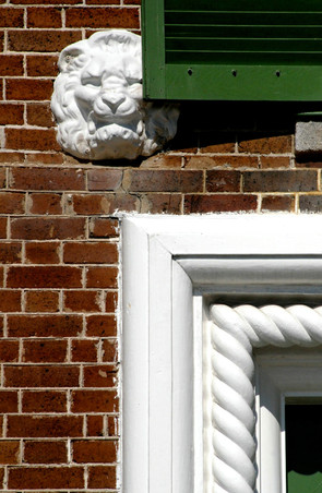 LION IN SOME DISTRESS - THE ROPER HOUSE