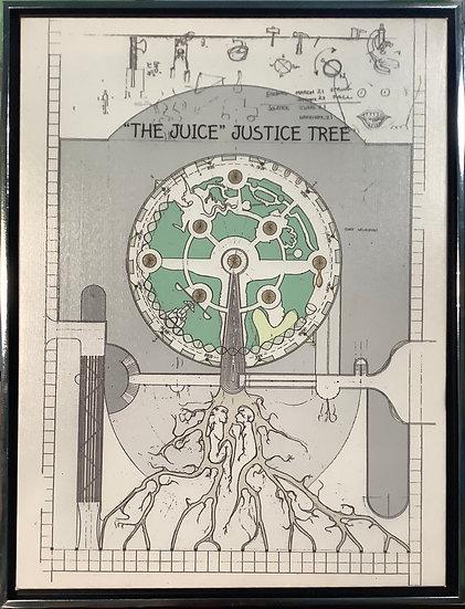 """The Juice"" technical art print"