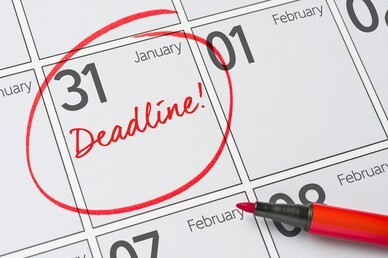 Small Business Filing Deadline is January 31