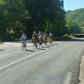 Caday Rouge cycling in France.jpg