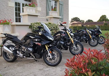 CRMT BMW Fleet for Motorcycle Tours