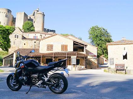 CRMT Motorcycle Tours at Bonaguil Castle