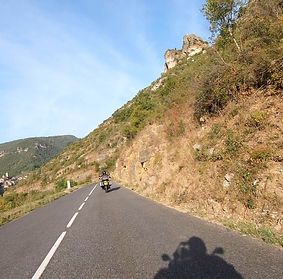 CRMT Motorcycle Tours in the Cevennes of France