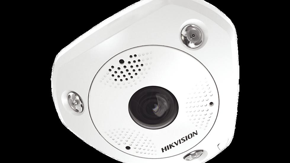Fisheye IP 12 Megapixel / DEWARPING / Lente IMMERVISION / 180° - 360° / WDR 120
