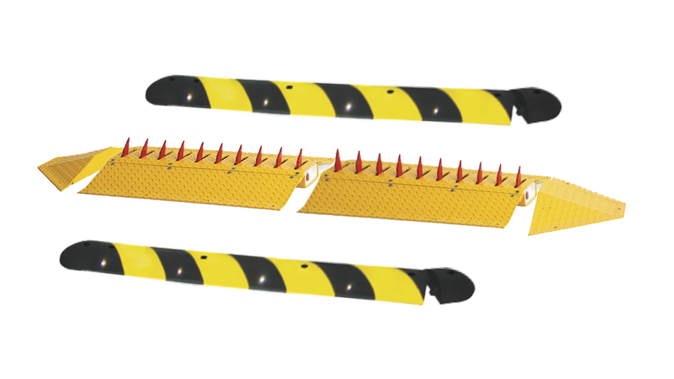 Kit de picos ponchallantas autónomo / Carriles de 2.2 M / No requiere barrera /