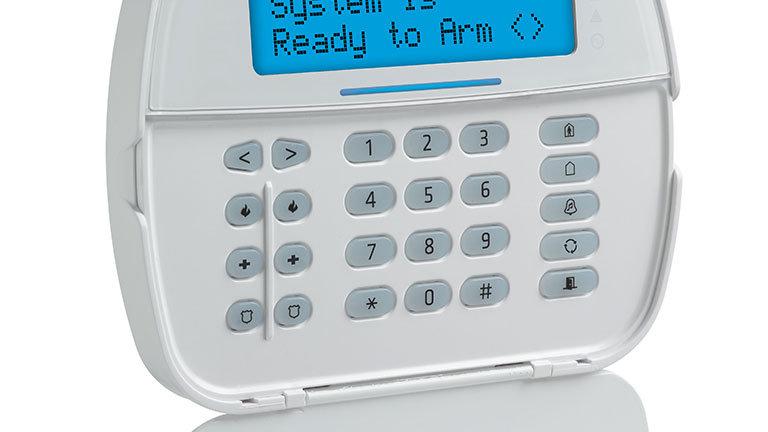 DSC HS2LCDN - Teclado Cableado LCD Alfanumérico de 32 caracteres admite 128