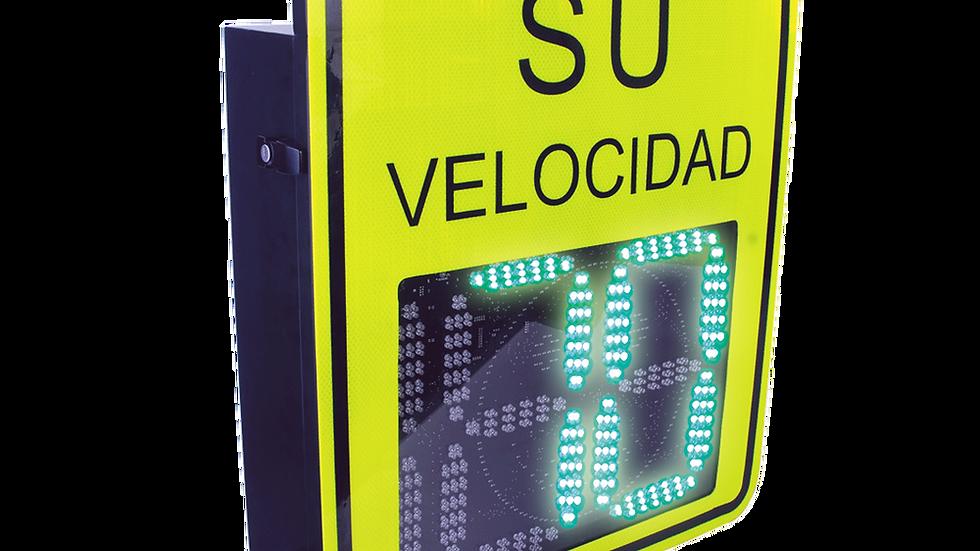 Radar Medidor de Velocidad de 3 Digitos / Salida Relevador / Bluetooth /