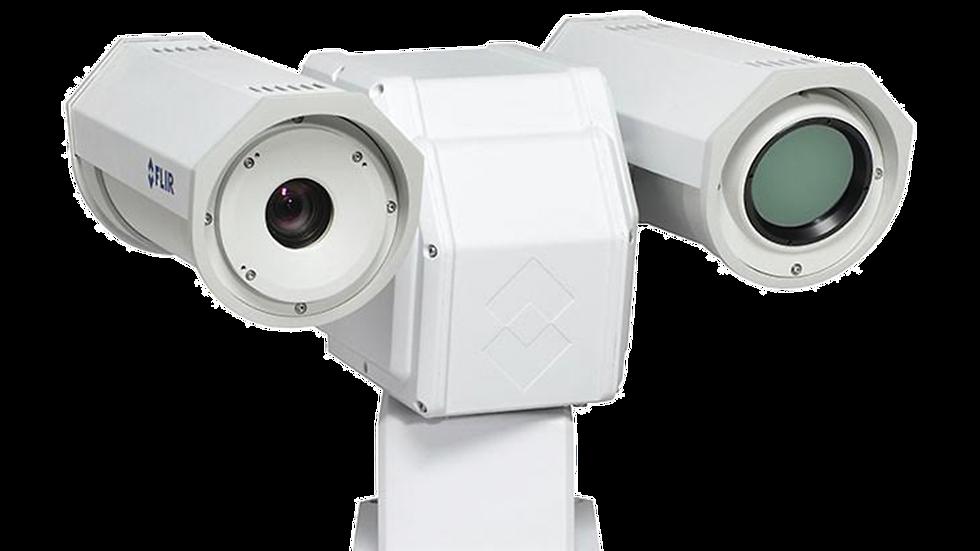 Cámara Térmica PT, IP/Analógica, Resolución VGA, Multi-Sensor, Lente 25mm,