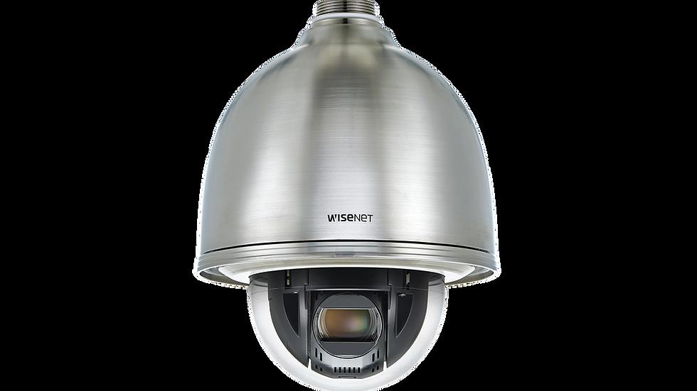 Domo IP PTZ de Acero Inoxidable 2MP / Antivandálica para Exterior / Zoom óptico