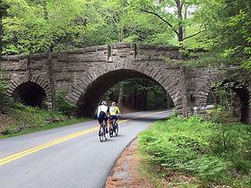 acadia cycling under bridge.jpeg
