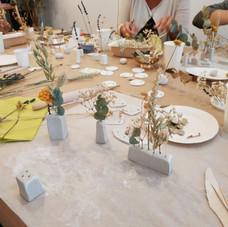 Atelier déco de table
