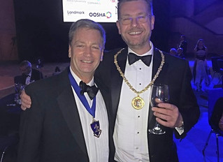 Kent Law Society President Joins Birmingham President for 200th Anniversary Celebrations