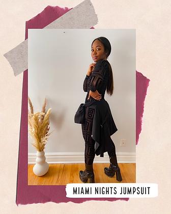 Miami Nights Jumpsuit