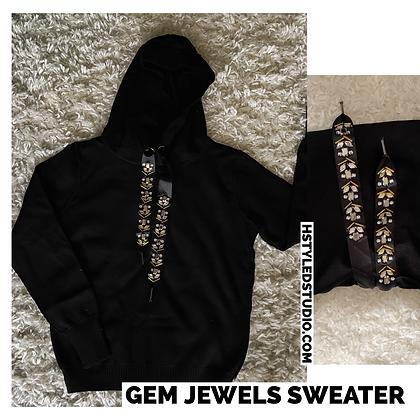 Gem Jewels Sweater
