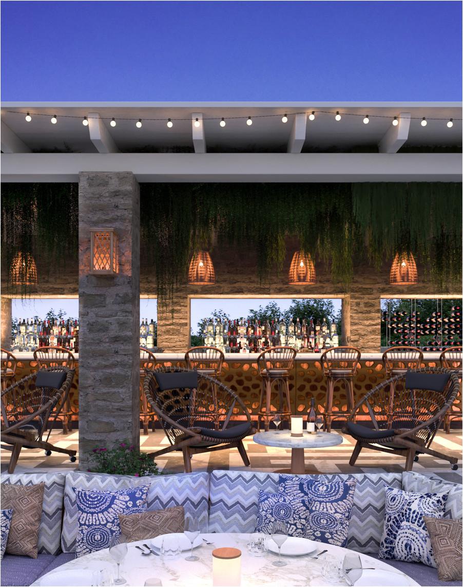 Mykonos Hotel Restaurant