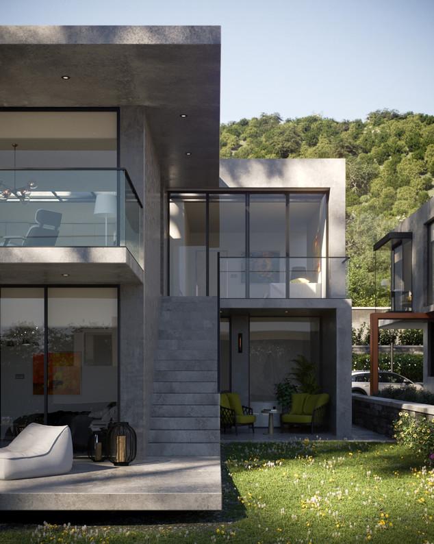Ochre Houses