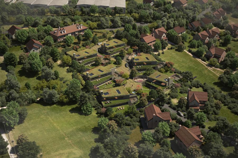 Ovelane Houses, Bristol