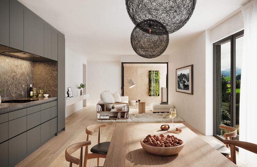 Urban Farm Apartments - Zurich