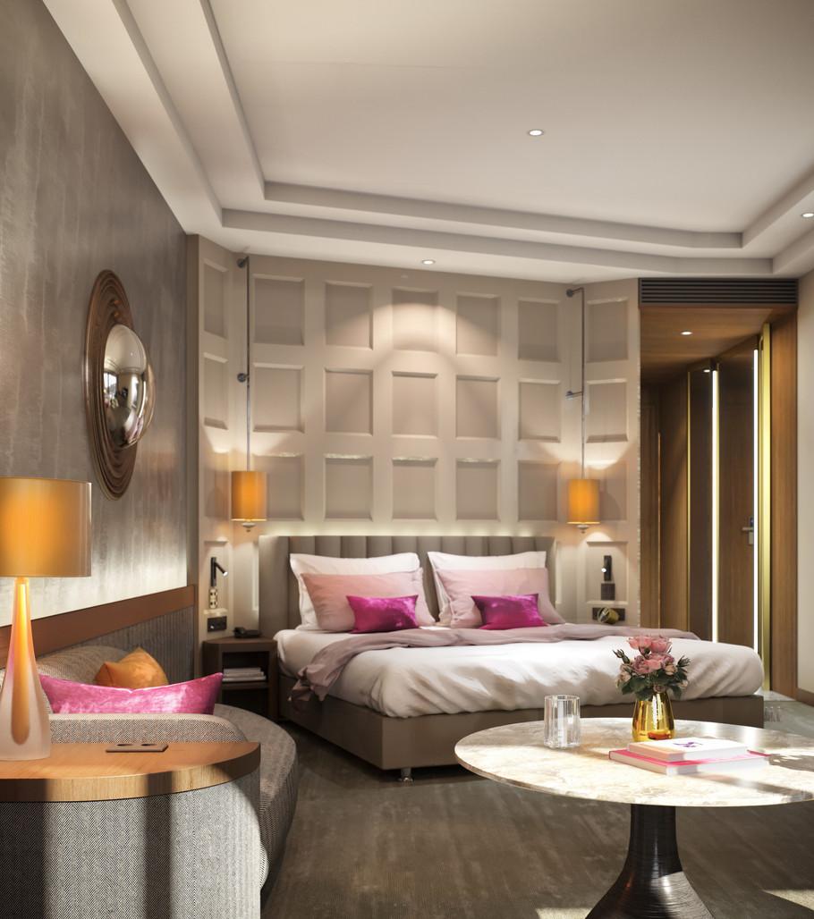 Crown Plaza Hotel Room