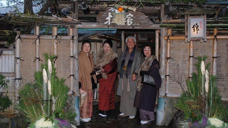 嵐山錦 新年お食事会