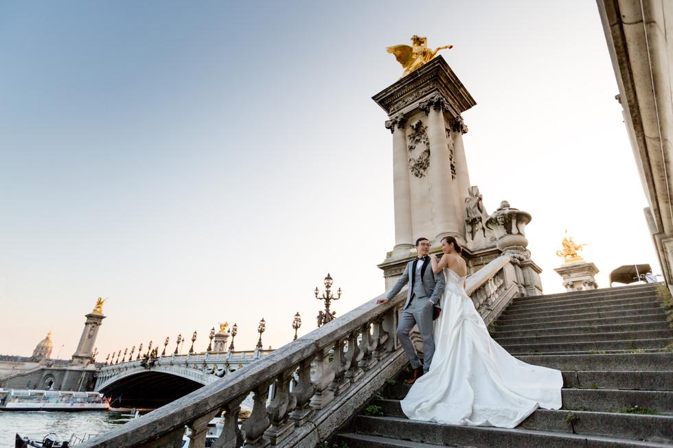 Pont Alexandre III, 亚历山大三世桥