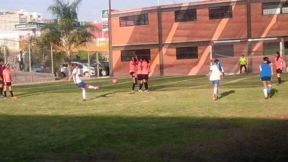 LIGA INTERCOLEGIAL SEC. FEMENIL