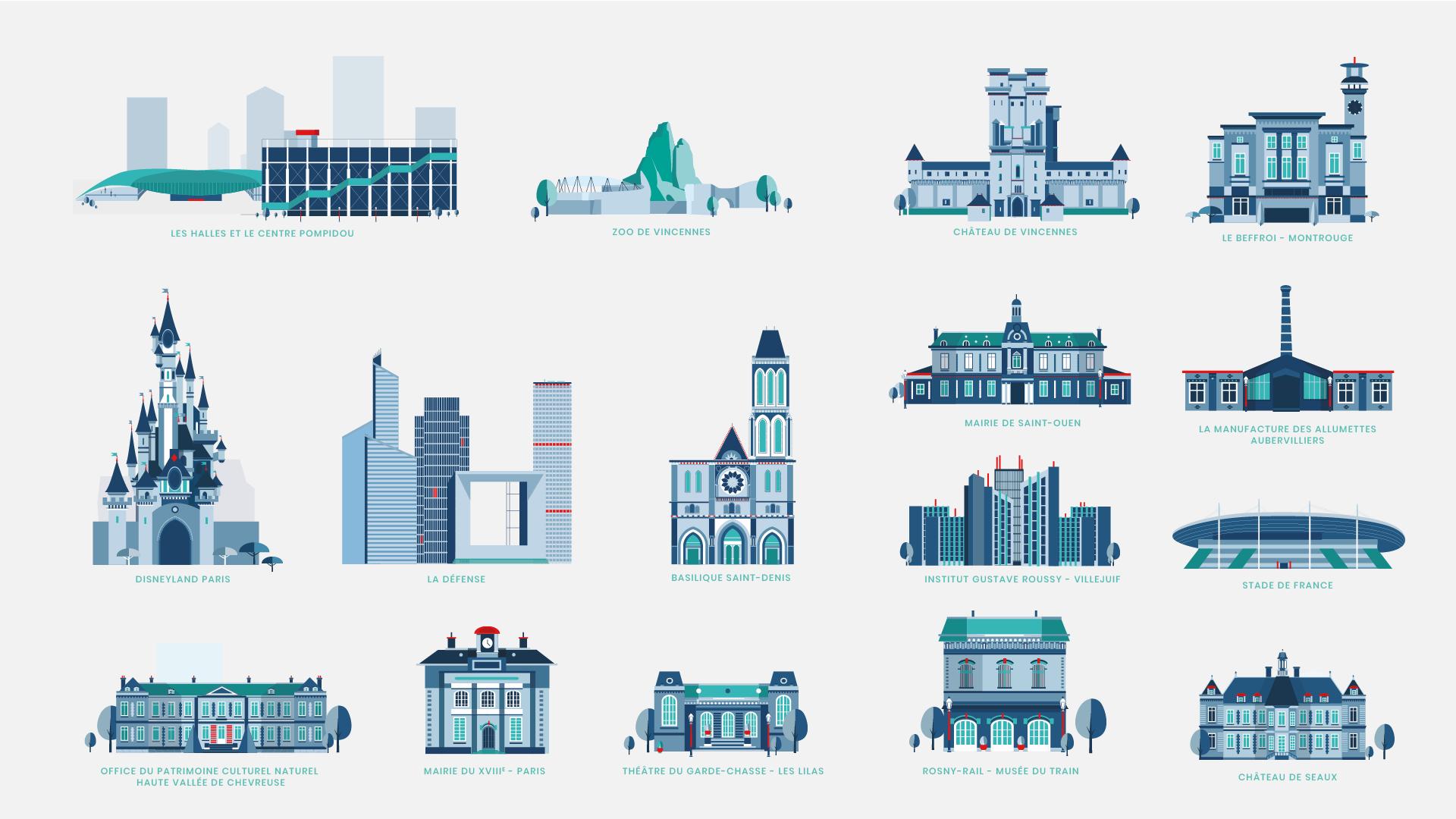 RATP icons