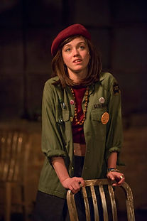 Ella Raymont as Sheila in HAIR: The Musical at American Theater Company, Chicago