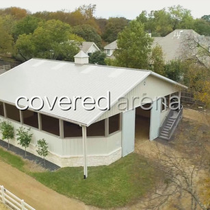 Aerial's of horse ranch