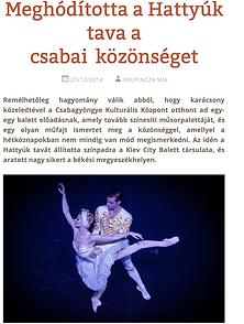 Kiev City Ballet Press
