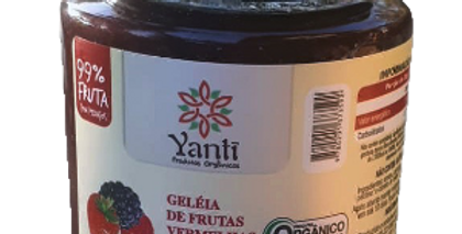 Geleia de Frutas Vermelhas  Sem Açúcar - 240g