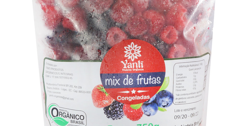 Mix de Frutas Congeladas  -  750g